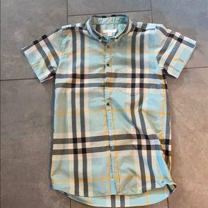 Boy's Burberry Shirt sleeve Dress Shirt